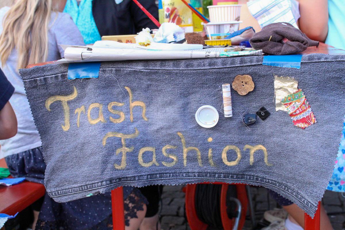 Trash Fashion auf dem KiKS Festival