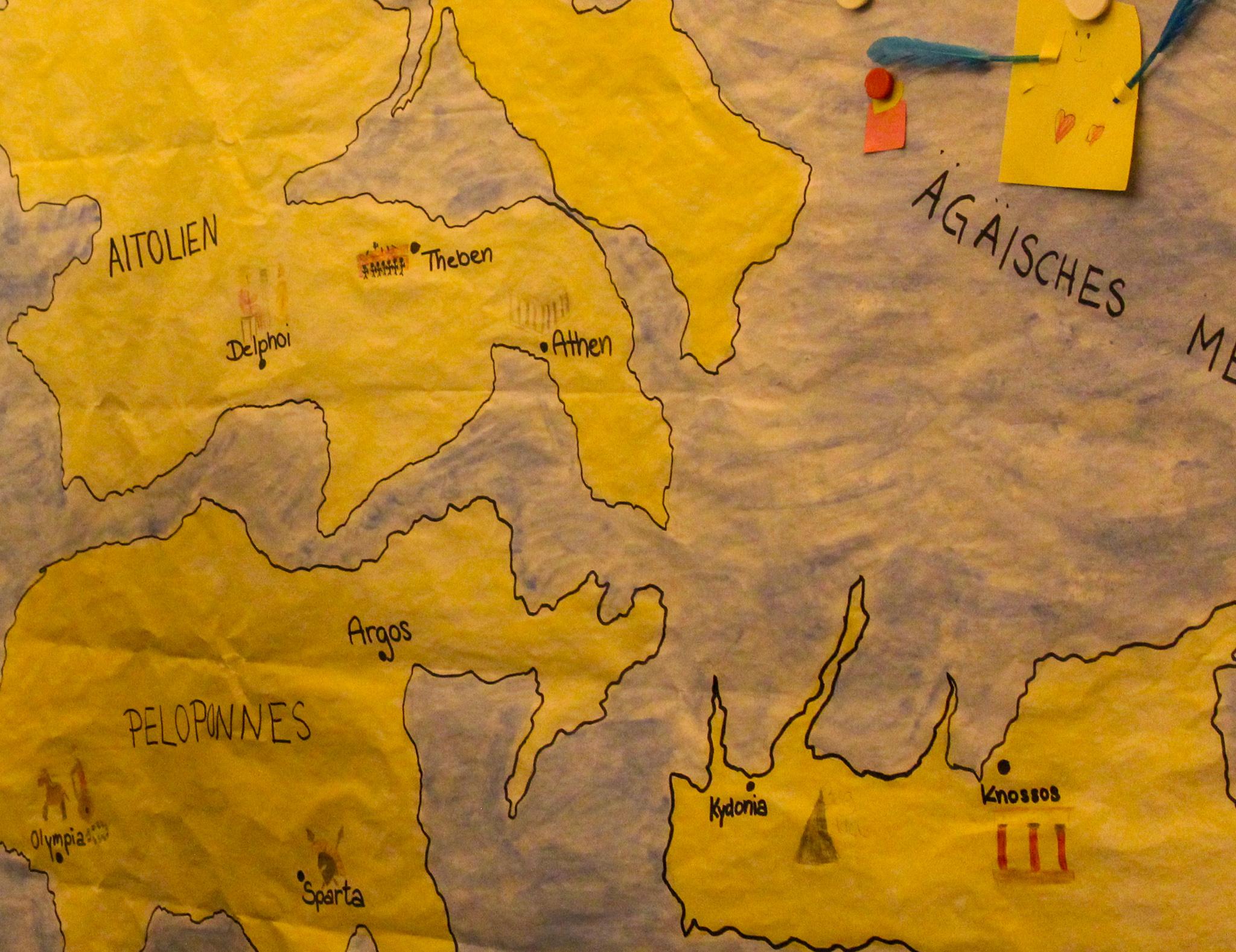 Olympiakinder – Auf zur Halbinsel Peloponnes!